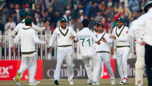 File image of the Pakistan cricket team. AP