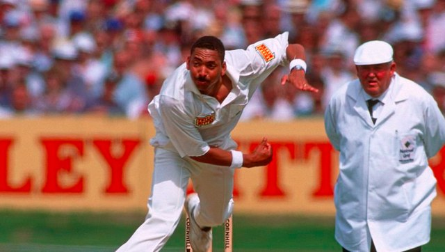 All-rounder Phil DeFreitas represented England in 44 Tests and 103 ODIs between 1986 and 1997. Image credit: Twitter/@ICC