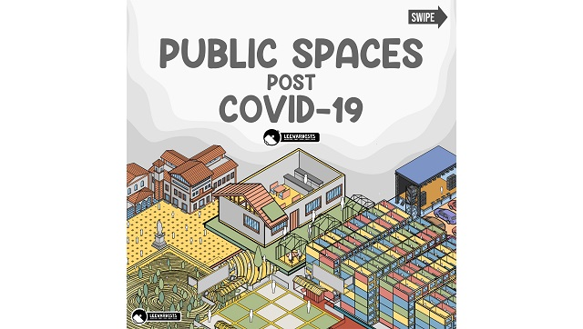 How public spaces could be customised to suit the post COVID19 world Read in new comic by the Leewardists
