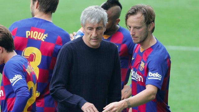 LaLiga Barcelona coach Quique Setien says he doesnt always see eyetoeye with his players