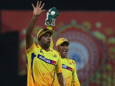 R Ashwin and MS Dhoni while playing for CSK in IPL. Sportzpics
