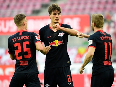 Bundesliga RB Leipzig reclaims third place after win at Cologne in line to seal Champions League spot