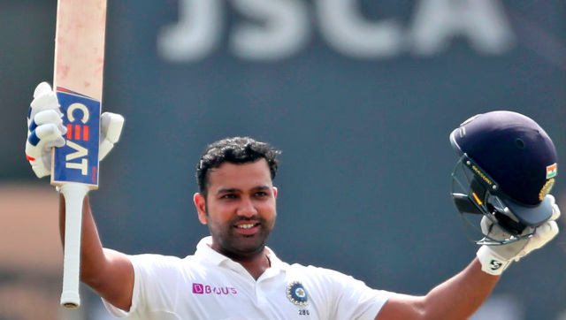 Rohit Sharma excelled in his debut series as Test opener against South Africa last year, scoring three centuries including a double-ton. AP