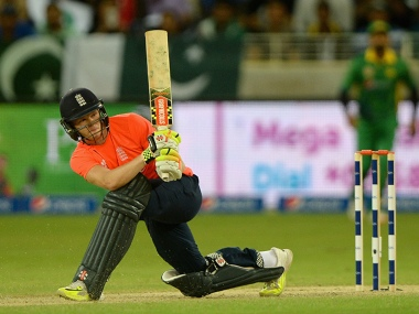 Sam Billings plays a shot on the leg side. Getty/File image