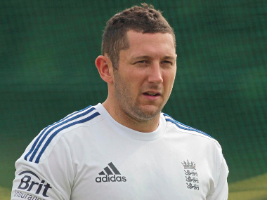 File image of England pacer Tim Bresnan. Image credit: Official Facebook page of England Cricket