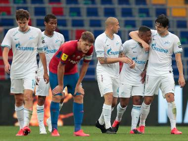CSKA Moscow fined 1460 for fans racial abuse of Zenit St Petersburg player Malcom