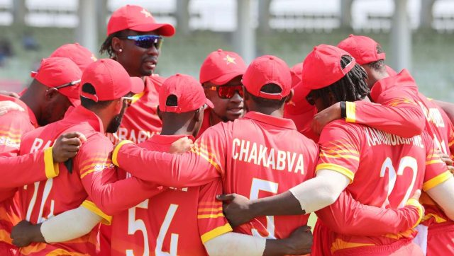 Zimbabwe were to travel to Australia in August for the ODI series. Image credit: Twitter/@ZimCricketv