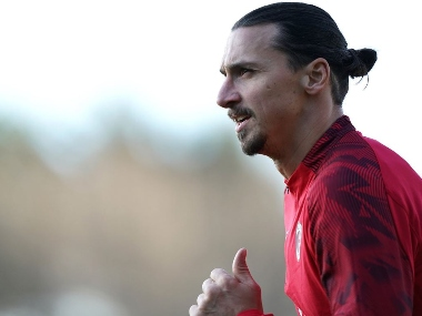 Serie A Zlatan Ibrahimovic recovering well from calf injury without complications say AC Milan