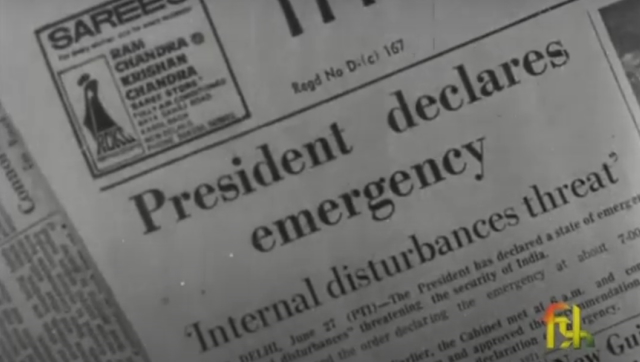 45 years later how Indira Gandhis 1975 Emergency appears through the lens of the Films Division of India