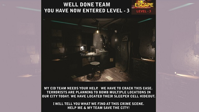 In virtual escape room games a chance to solve lockdown mysteries  and save the world from coronavirus
