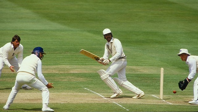 One 10 June 1986, India won their first Test at Lord's. Image via Twitter/@ICC