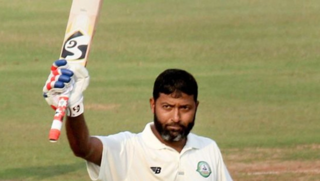 File image of former India cricketer Wasim Jaffer. PTI