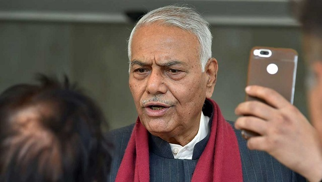Yashwant Sinha announces return to politics after two years to launch outfit for Bihar Assembly polls
