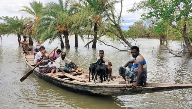 Submerged homes flooded fields derailed lives The aftermath of Cyclone Amphan in Bangladesh in photos
