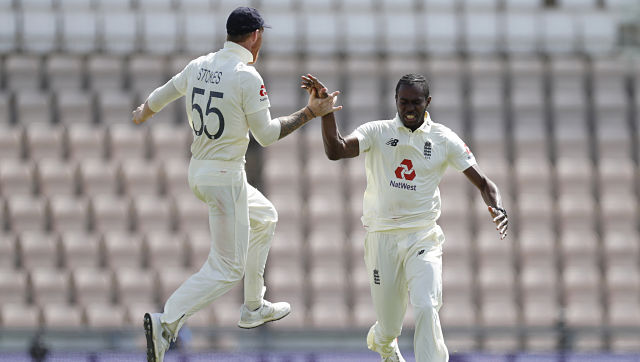 """England head coach Chris Silverwood agreed with Stokes, saying """"Archer is a massive part of the group"""". AP"""