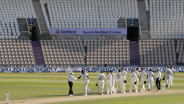 Ireland have voiced concerns over the visibility of the white-ball against the backdrop of empty cream-coloured seats at the Ageas Bowl Stadium. AP