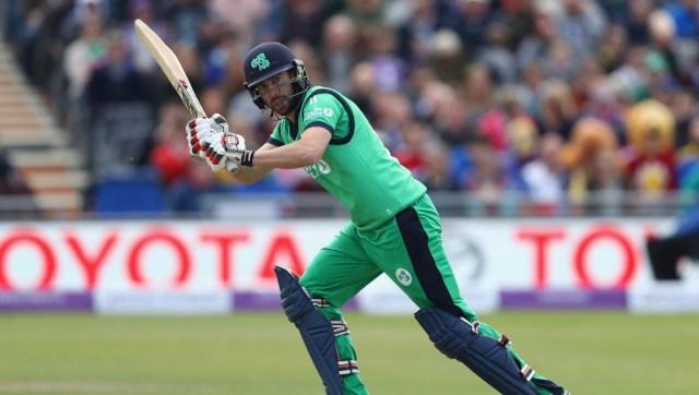 File image of Ireland captain Andy Balbirnie. Image credit: Twitter/@ICC