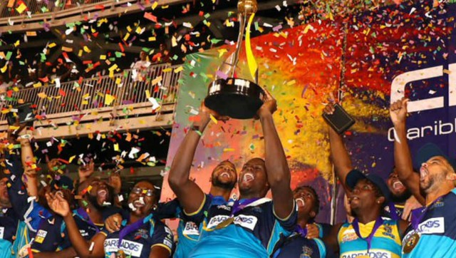 Barbados Tridents are the current champions of CPL. Image Courtesy: Twitter @CPL