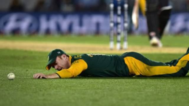 AB de Villiers saw South Africa suffer a disappointing loss in the 2015 World Cup semi-final. AFP