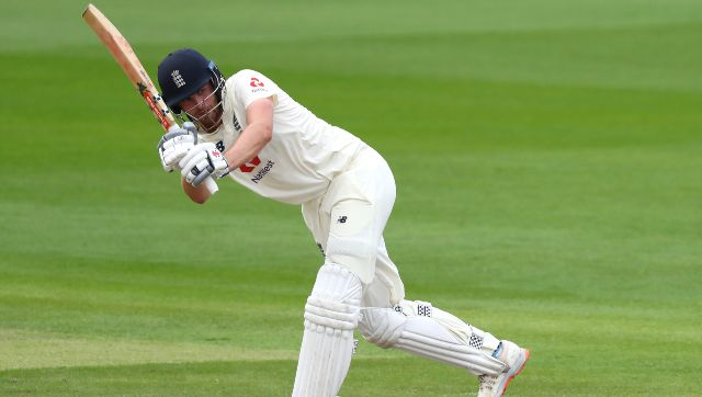 Dom Sibley scored 120 batting first in second Test off 372 deliveries. AP