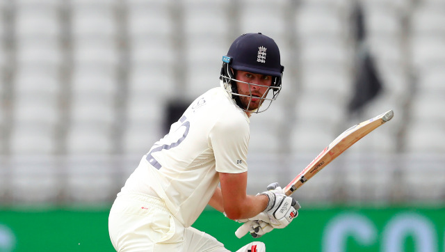 Dom Sibley met with some criticism for his 372-ball 120 in the second Test against West Indies at Manchester. AP