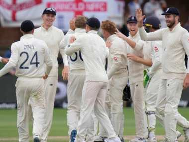 File image of the England cricket team. AP Photo