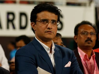 File image of Sourav Ganguly. Sportzpics