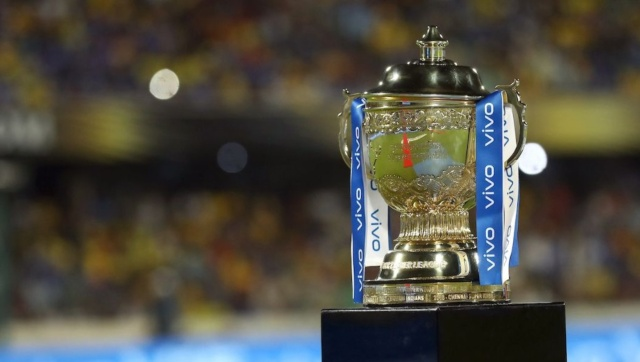 File image of the IPL trophy. Sportzpics