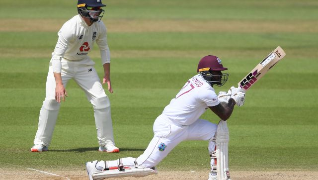 Jermaine Blackwood's 95 guided West Indies to victory in 1st Test against England. AP
