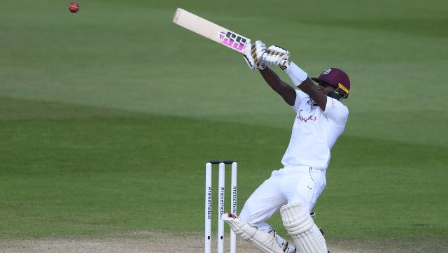 Jermaine Blackwood scored a match-winning 95 for West Indies in the first Test. AP