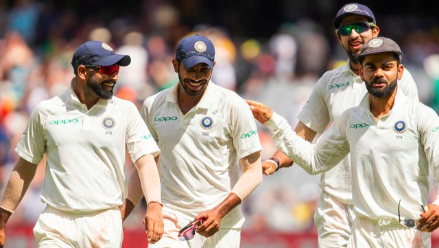 The Indian bowling unit comprising Mohammed Shami, Jasprit Bumrah and Ishant Sharma has played a key role in Virat Kohli's success as India captain. AP