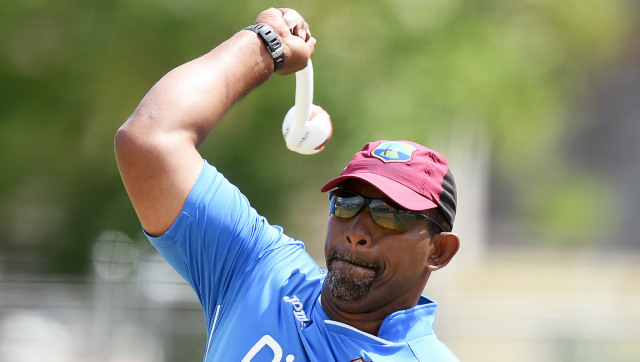 File image of West Indies coach Phil Simmons. AFP