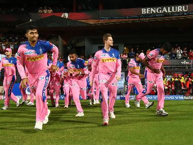 File image of the Rajasthan Royals team. Sportzpics