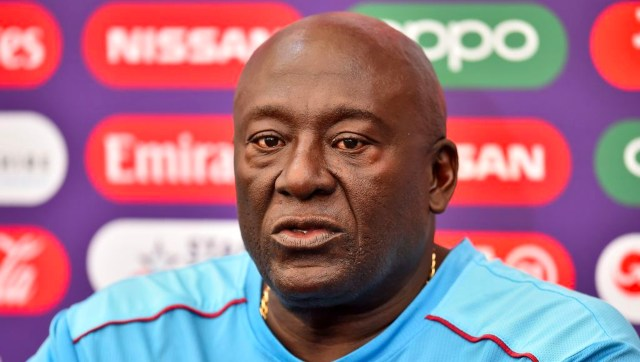 File image of West Indies assistant coach Roddy Estwick. Image credit: Twitter/@windiescricket