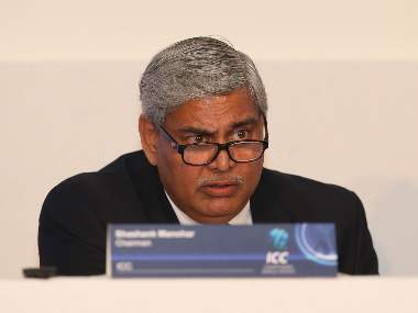 Shashank Manohar took charge as ICC Chairman in November 2015. Image courtesy: ICC Media