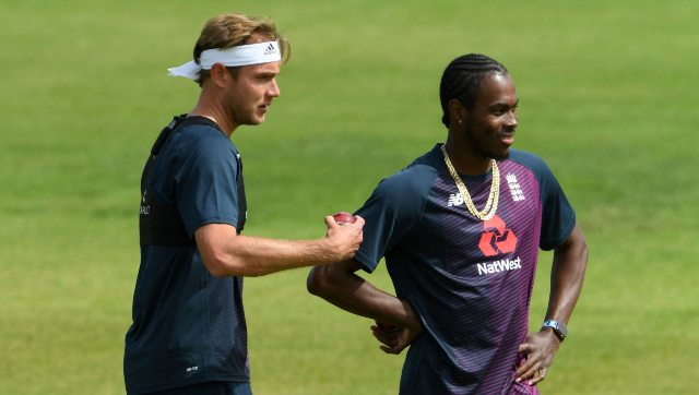 Stuart Broad has asked England team's sports psychologist to create a mindset best suited for playing behind closed doors. AP