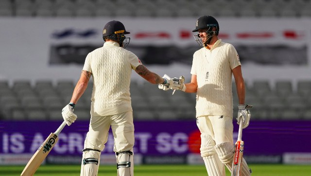Ben Stokes and Dom Sibley shared an unbroken 126-run partnership for the fourth wicket on Day 1 of the second Test. AP