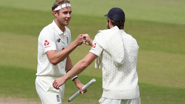 Stuart Broad has reached his best position in ICC rankings since August 2016 when he was third. AP