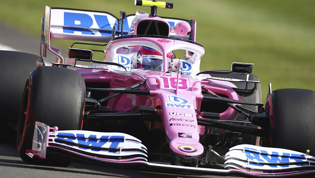 Formula 1 2020 Lance Stroll quickest at 2nd British Grand Prix practice Sebastian Vettel struggles