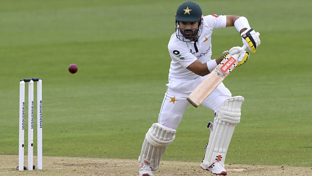 Pakistan were 223-9 at stumps on the second day, with Rizwan 60 not out just as he started to up the tempo of his innings with only last man Naseem Shah for company. AP