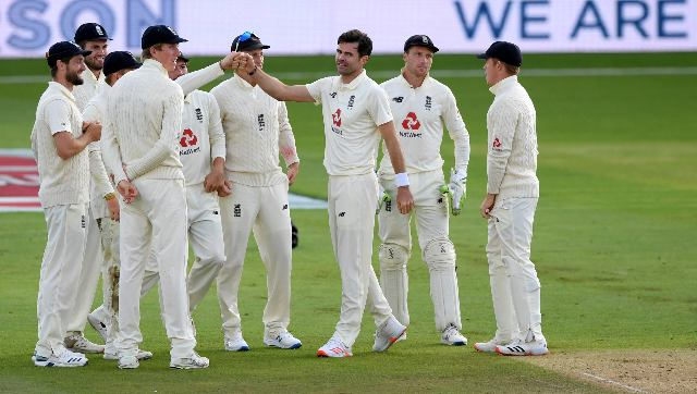 James Anderson is just four shy of the 600-wicket mark in Tests. AP