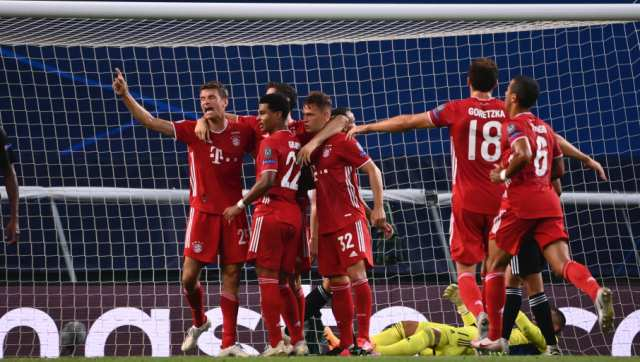 Bayern Munich beat Lyon to reach Champions League final