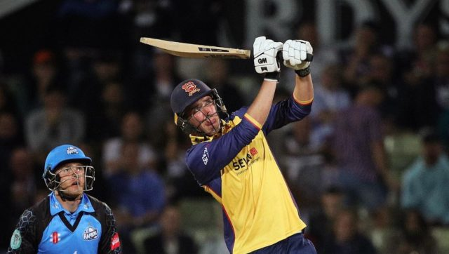 Dan Lawrence playing for Essex County Club. Image: Twitter/@EssexCricket