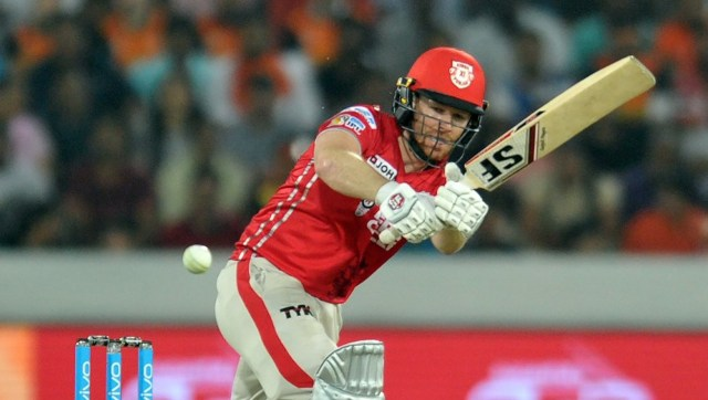 Eoin Morgan in action at the IPL. AFP