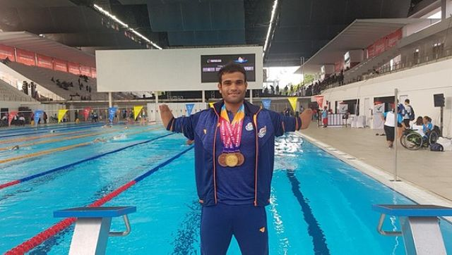 As pools remain closed Paralympic swimmer Suyash Jadhav keeps Tokyo 2020 dreams afloat by training in pond