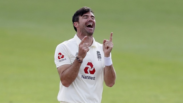 File image of James Anderson. AFP