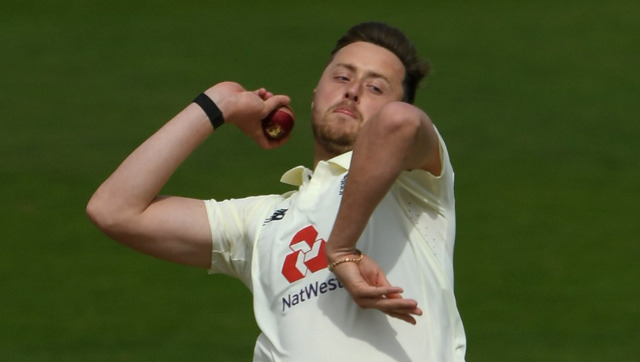 File image of Sussex pacer Ollie Robinson. Image credit: Twitter/@englandcricket