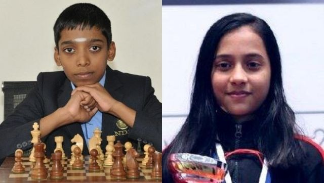 2020 Online Chess Olympiad Juniors R Praggnanandhaa Divya Deshmukh leads India's indictment against China as the team advance to the quarter-finals