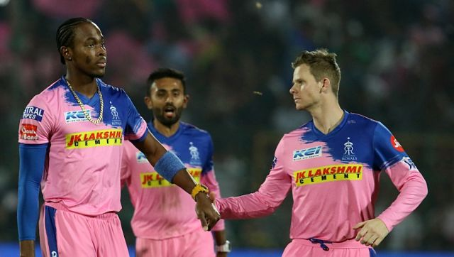 File image of Steve Smith and Jofra Archer. Sportzpics
