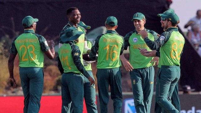 File image of South Africa men's cricket team. AP